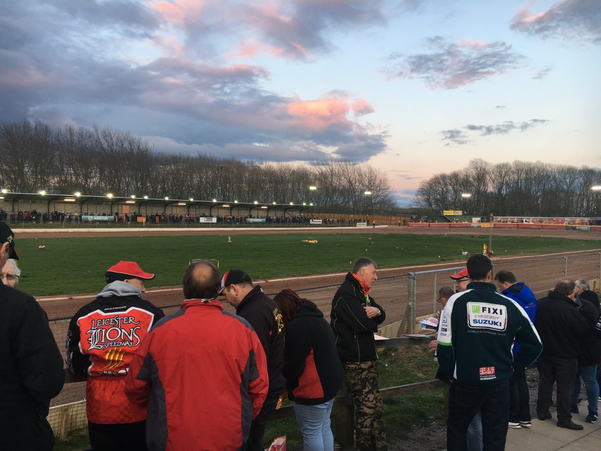 A victorious opening night for the Leicester Lions