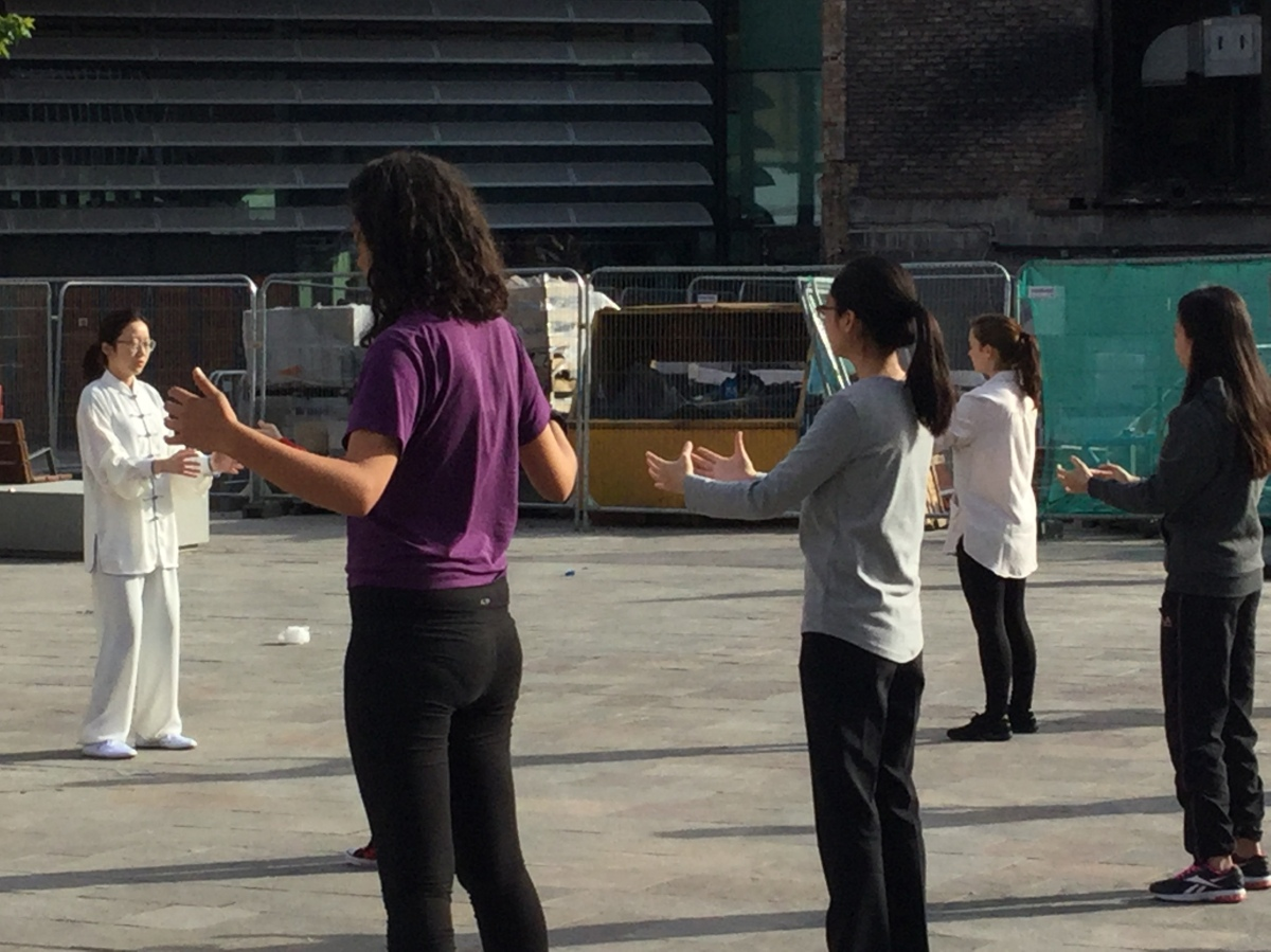 Free Tai Chi sessions comes to Leicester Market Square