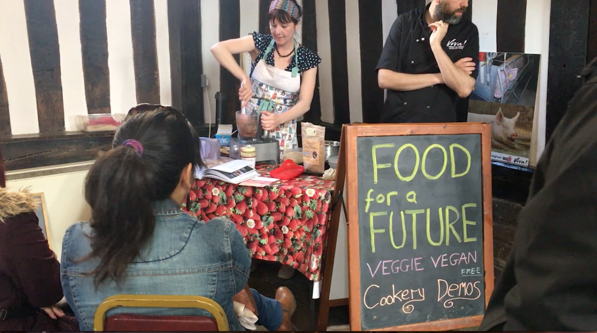 National Vegetarian weeks kicks off with GoVeggie fair at Guildhall