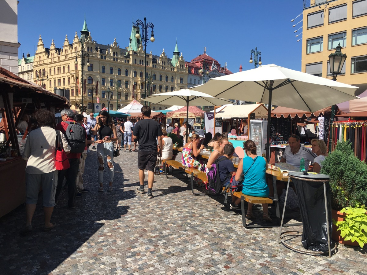 VIDEO: Prague markets - a great experience