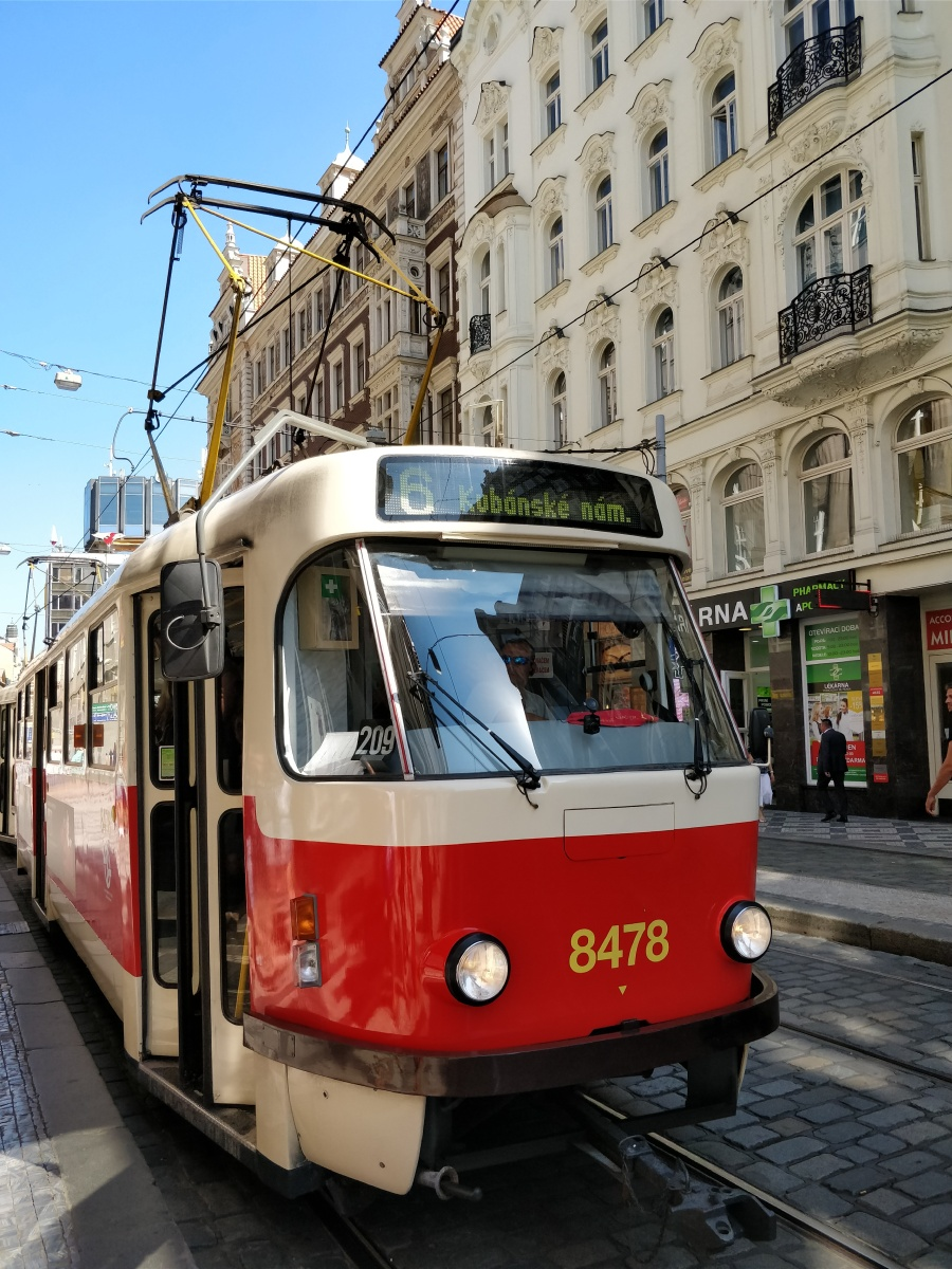 An homage to Prague's classic trams