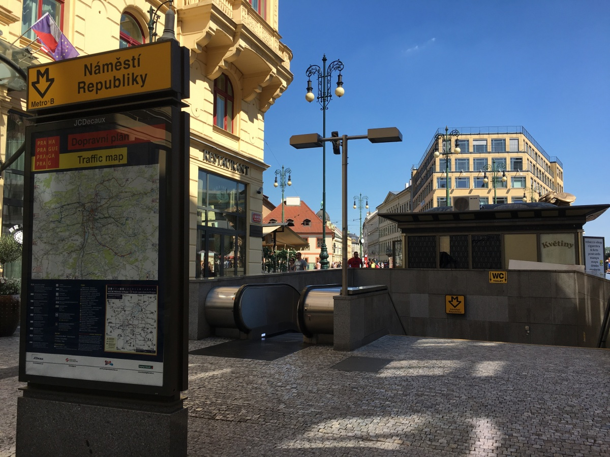 Getting around Prague with a disability