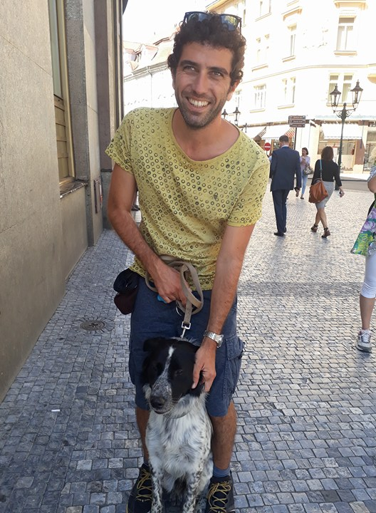 Prague doggo Tommaso