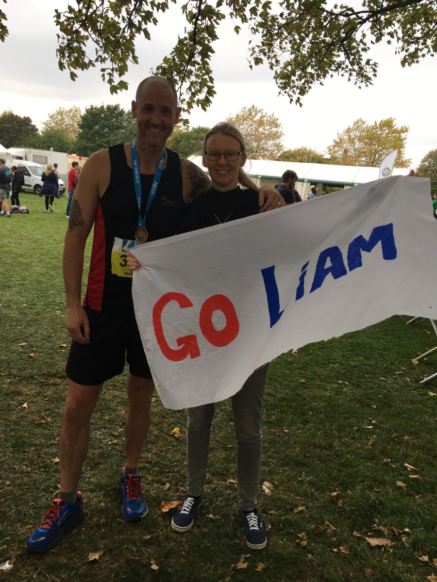 Runner tackles Leicester Marathon for heart research