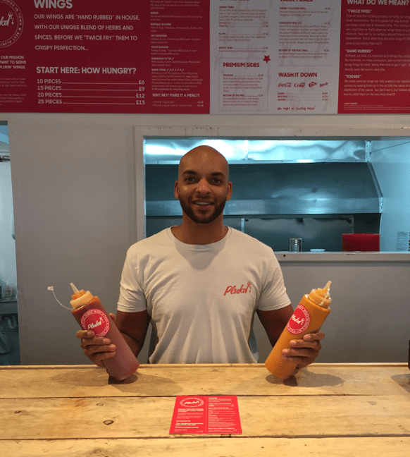 Chicken wing kings Plukd open first official shop in Leicester