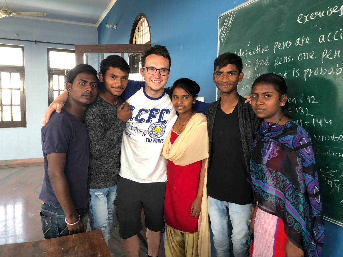 Slums life shocks Leicester volunteer on teaching trip to India's Punjab region