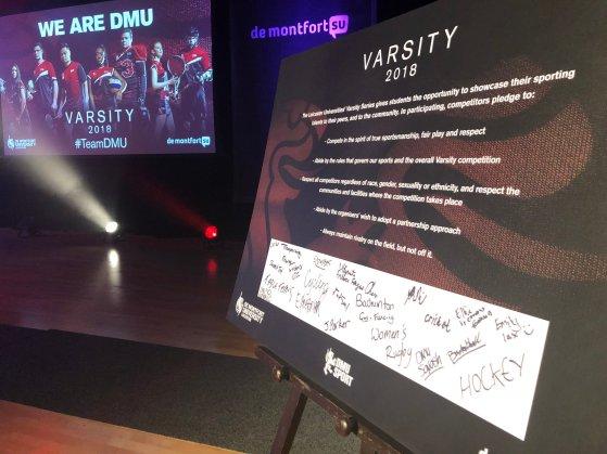 Varsity Pledge