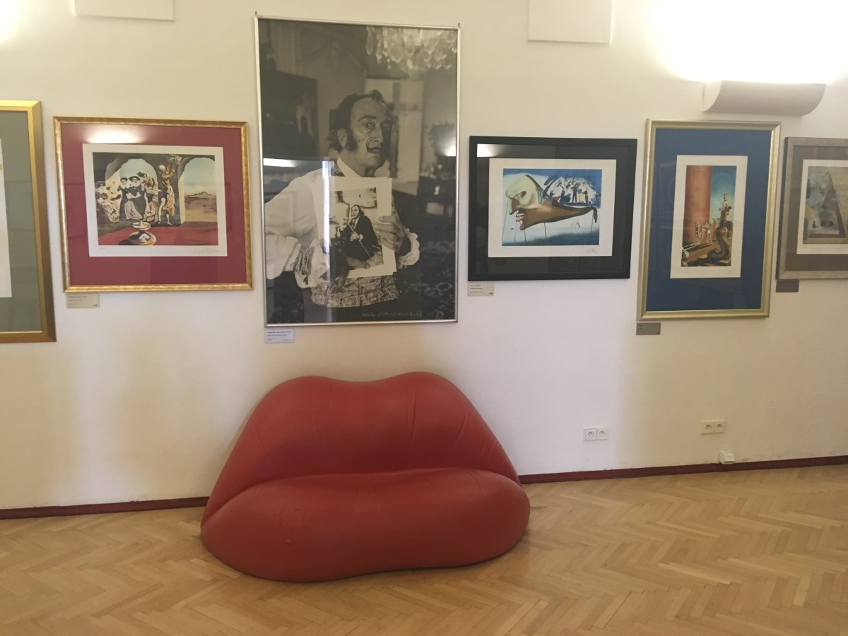 Art in Prague #1: Dali, Mucha and Warhol