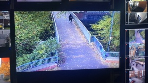 The view from the Bede Park cameras