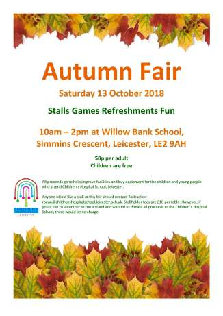 Poster for autumn fair
