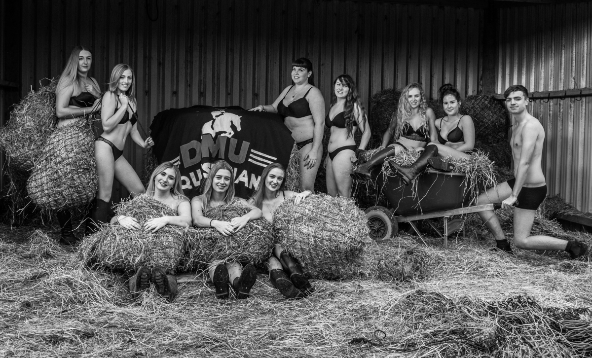 DMU students undress for charity calendar