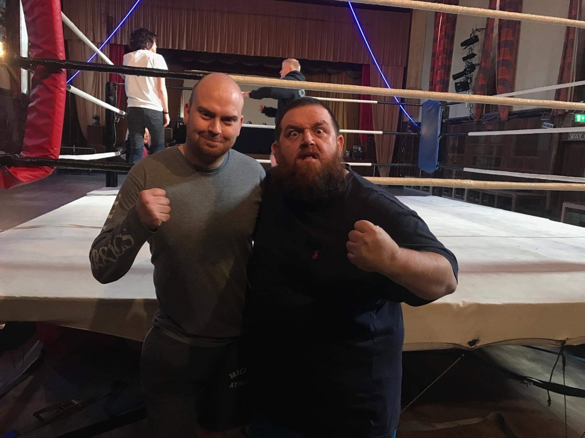 Pro wrestling promoter thrilled to train actors in Fighting With My Family